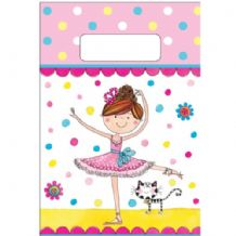 Ballerina Party Bags by Ellen 8pcs